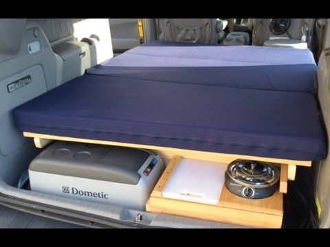 Chrysler DIY Minivan Camper Conversion
