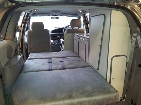 Ford Galaxy Camper Conversion >> 10+ Minivan Camper Conversions to Inspire Your Build & Adventure