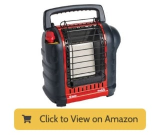 Mr Heater Buddy 9000 BTU Portable Propane Heater