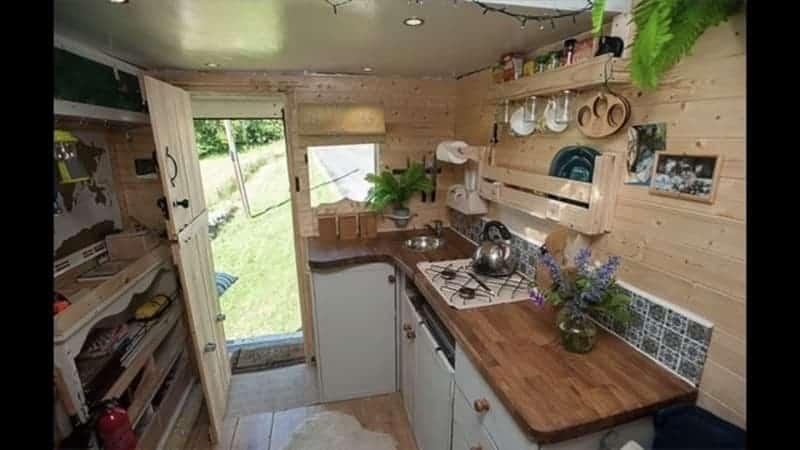 For Transit Luton Box Van Conversion