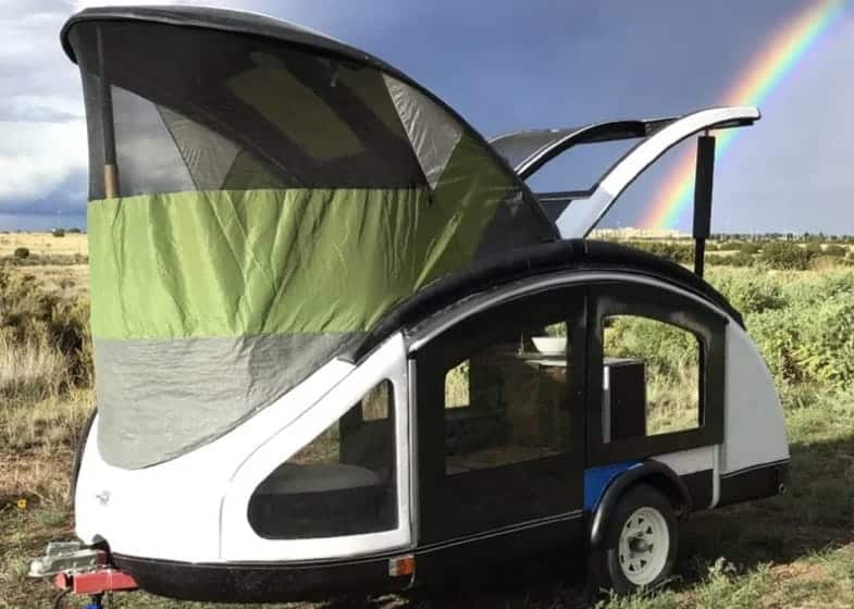 Earth Traveler Ultralight Teardrop Trailer