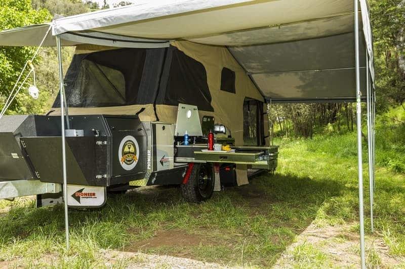 Pioneer Onyx Rugged Off Road Camper Trailer