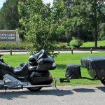 Bunkhouse Motorbike Camper Trailer
