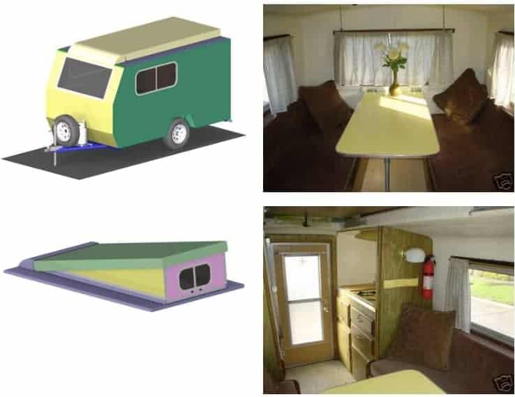 Teardrop Camper Plans 11 Free Diy Trailer Designs Pdf Downloads Rv Camping Guides Reviews