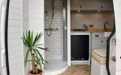 Van Conversion Shower Ideas