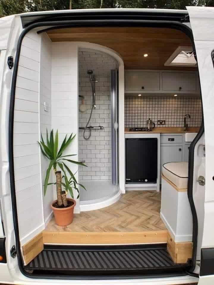 Van Conversion Shower Ideas