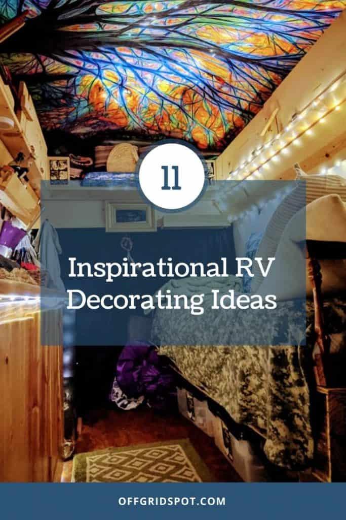 RV Decorating Ideas