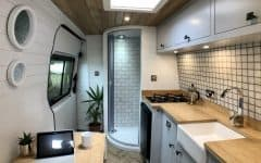 Volkswagon Crafter van conversion