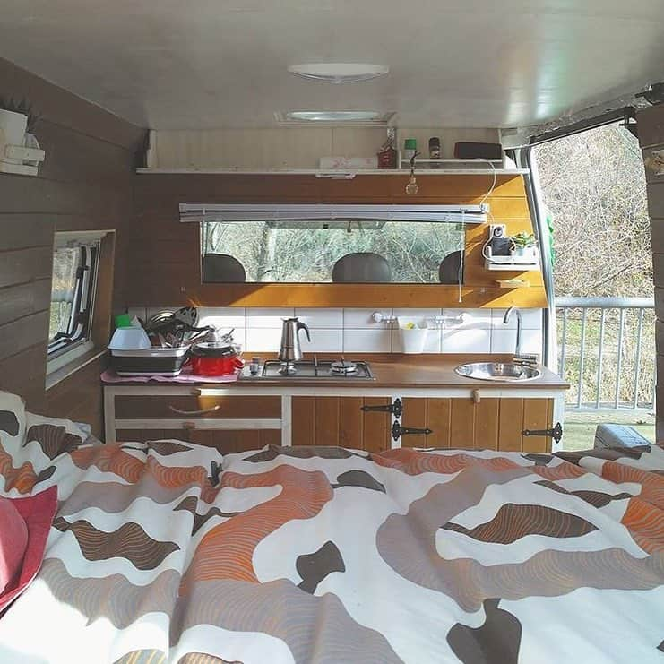 Van Conversion Kitchen