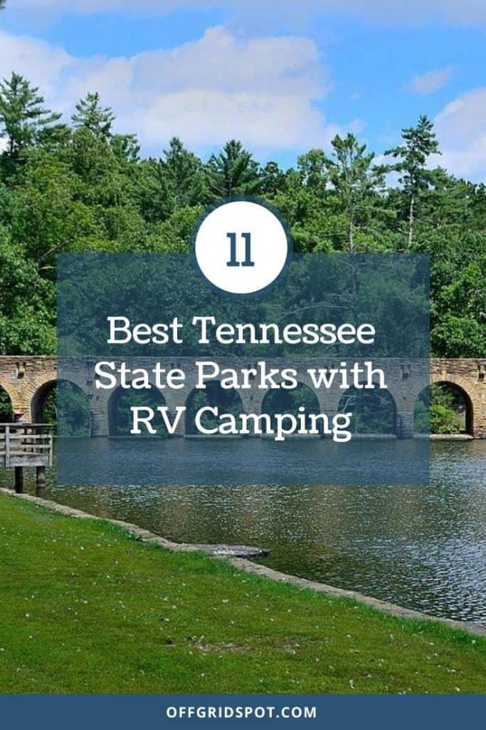11 Best Tennessee State Parks with RV Camping