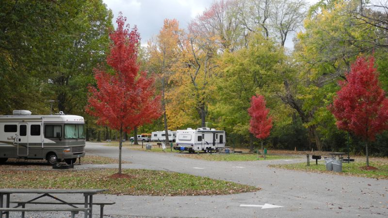 T.O. Fuller State Park - Tennessee State Parks with RV Camping