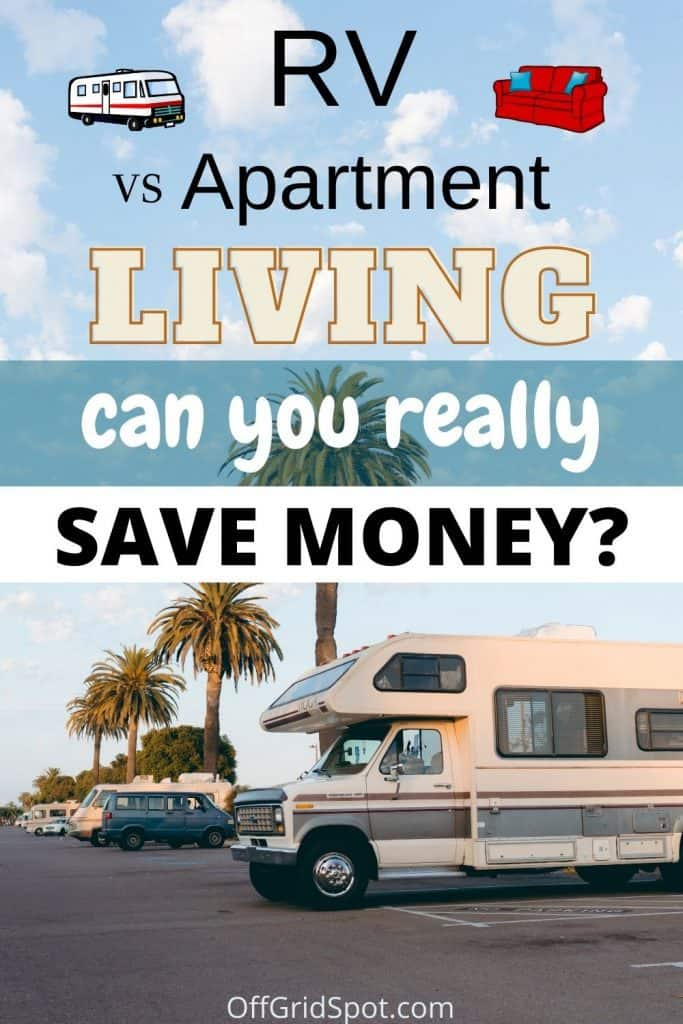 RV vs Apartment | Which is Cheaper?