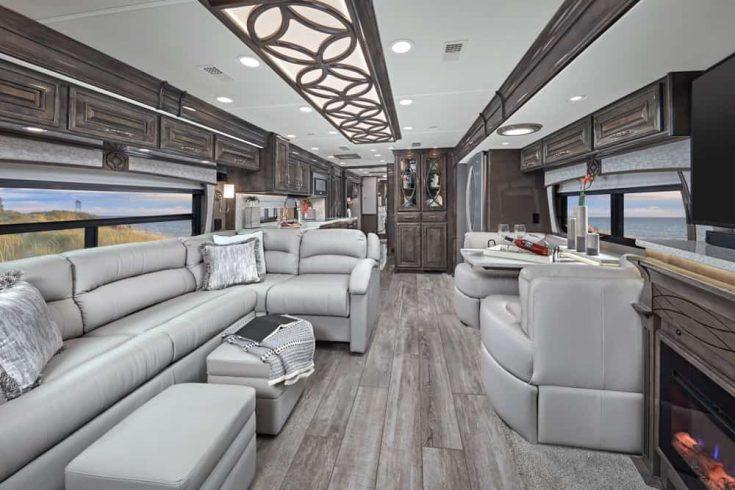Entegra Coach Cornerstone Luxury RVs Interior