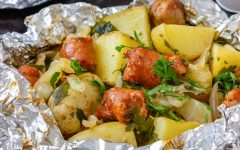 Foil Packet Camping Meals