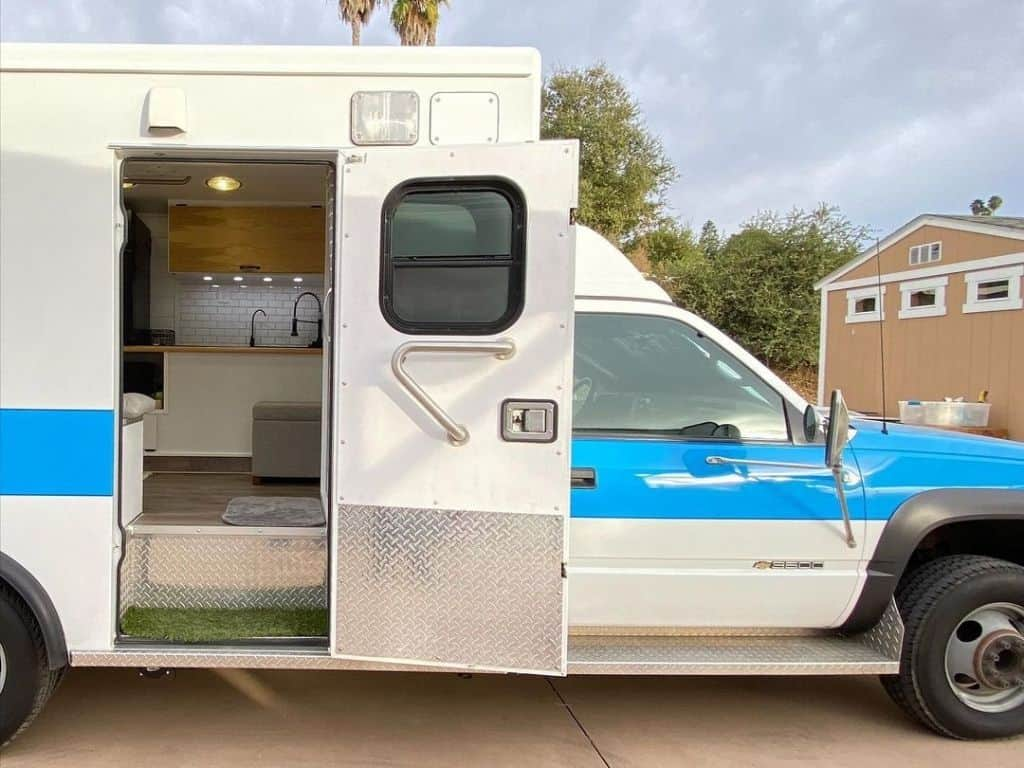 Ambulance Camper Conversions